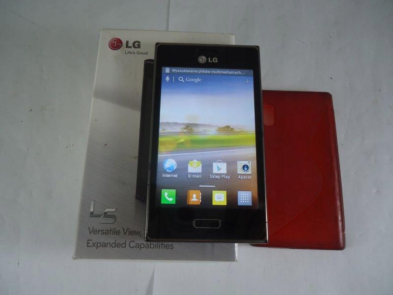 Telefon Lg L5 E610 Komplet Warto 7473222483 Oficjalne Archiwum Allegro