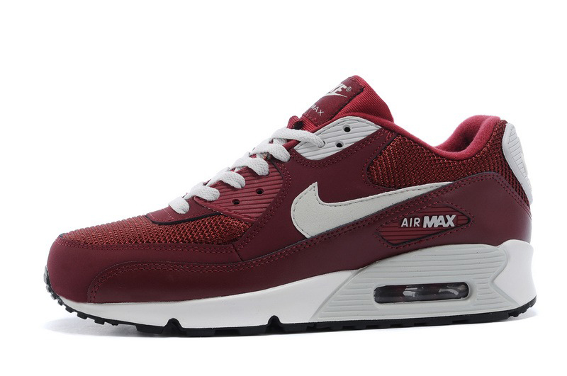 Nike Air Max 90 BORDO 537384 605 r. 41 WIOSNA'17