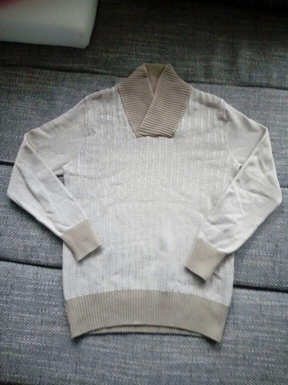 Sweter męski Reserved M jak nowy