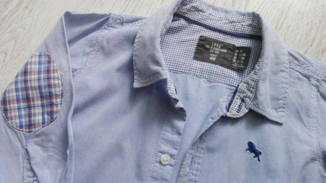 H&M koszula dla chłopca rozm. 80 7240678843 oficjalne  wQKVa