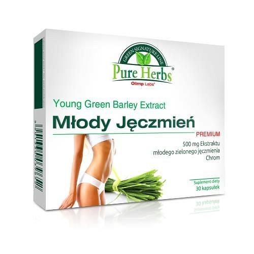 co leczy zielony jęczmień