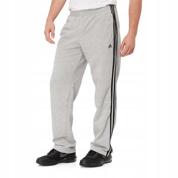 Adidas ESS 3S LISWPTOH. Spodnie dresowe męskie czarne