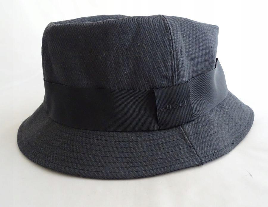Gucci ITALY męski kapelusz XL