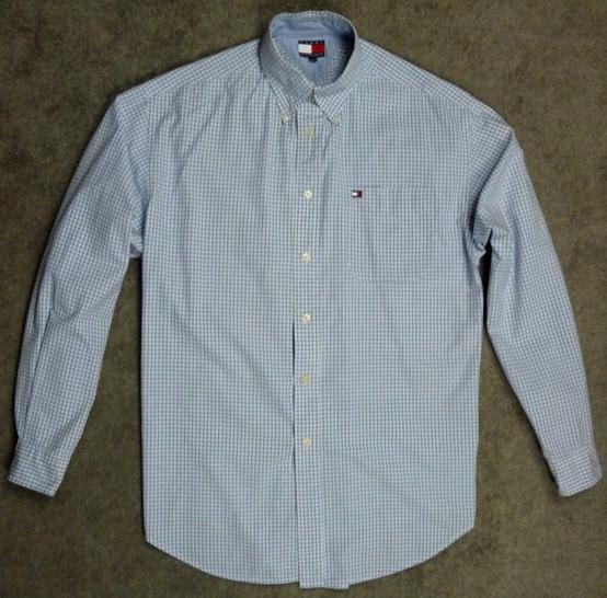 TOMMY HILFIGER koszula męska - M jak L / XL kratka