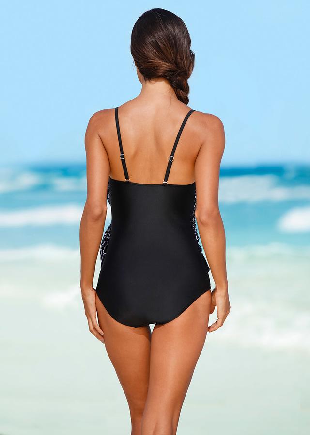 Kostium kąpielowy czarny 58 9XL 941365 bonprix
