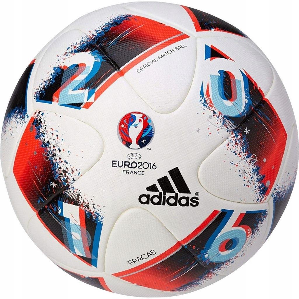 Pilka Nozna Adidas Euro 2016 France Official Match 7449889559 Oficjalne Archiwum Allegro