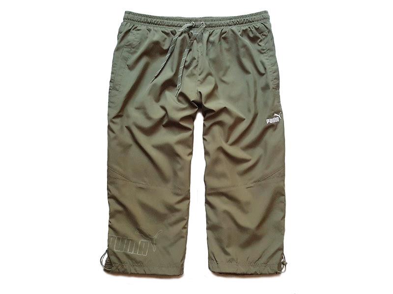 PUMA spodnie sportowe dresowe dres spodenki 3/4 XL