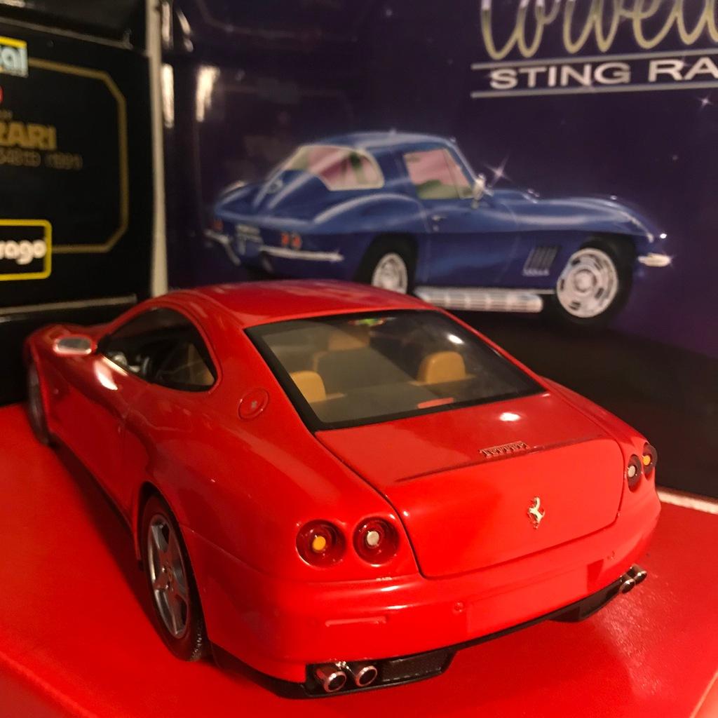 Ferrari F137 612 Scaglietti 1 18 Hot Wheels 7783966082 Oficjalne Archiwum Allegro