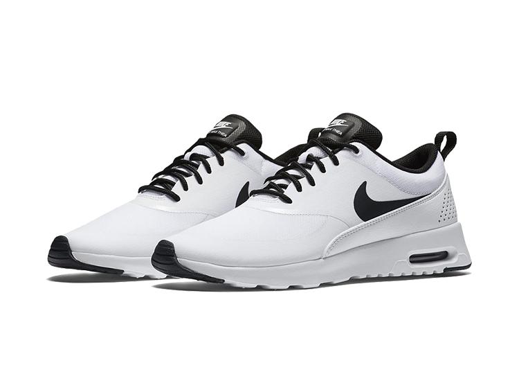 Buty Damskie Nike Air Max 87 Thea 599409 103 Biało Czarne