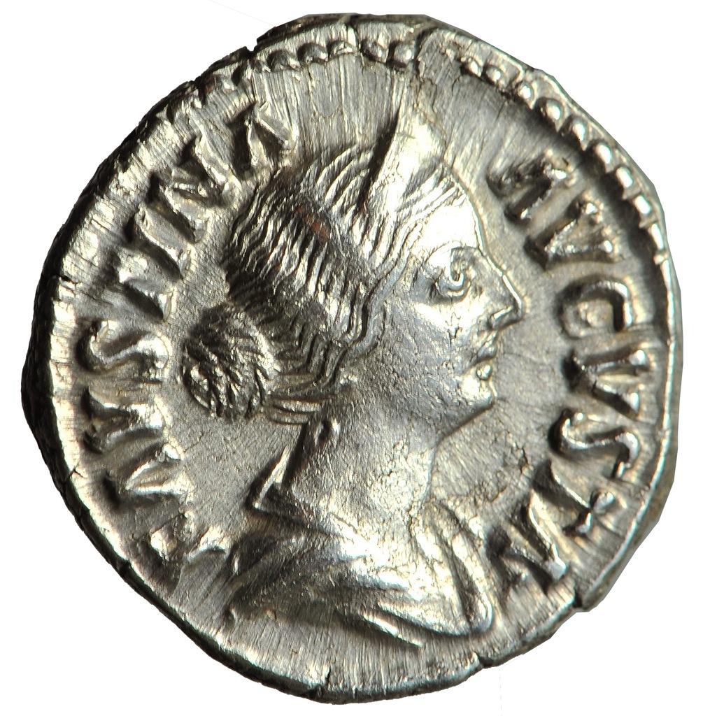 Faustyna II - DENAR - BLIŹNIACY - RZADKI i PIĘKNY