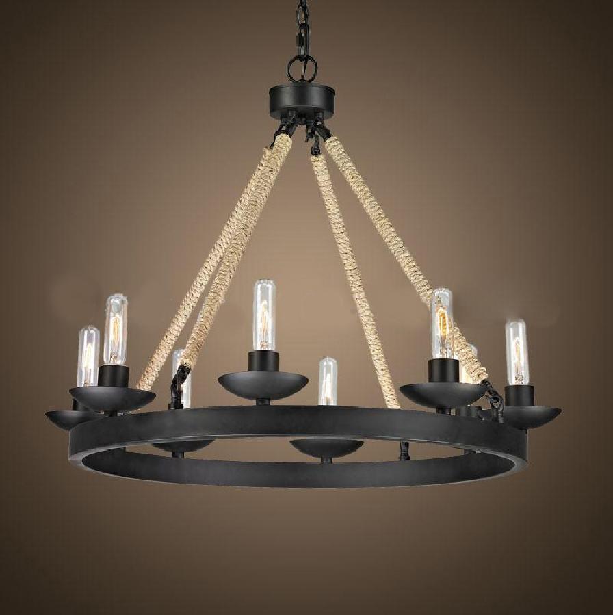 lampy wiszące w starym stylu