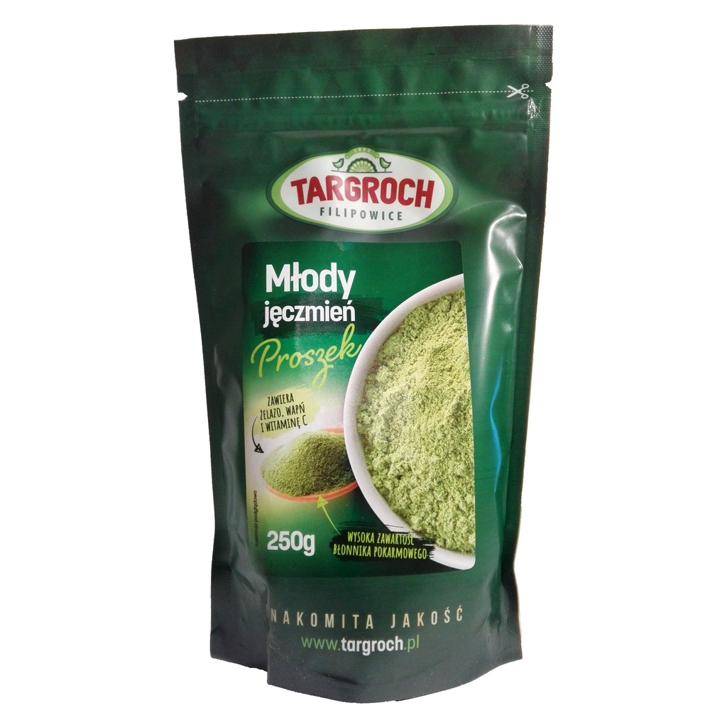 green barley plus cena