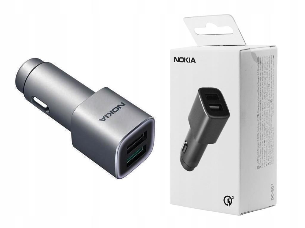 Lumia 635 735   Ładowarka samochodowa Nokia QC 3.0