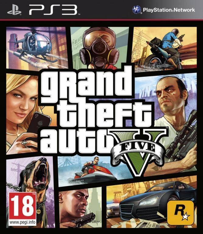 Gta V Grand Theft Auto V Gta 5 Polska Ps3 2 Gry 7407040448 Oficjalne Archiwum Allegro