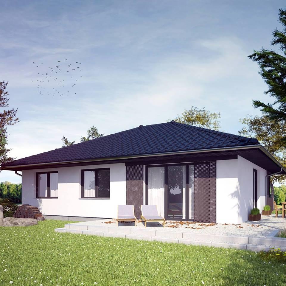 Projekt Dom Za 150 Tys Domza150tysiecy Pl 106m2 7419271800 Oficjalne Archiwum Allegro