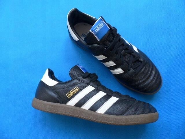 buty adidas oldschool czarne skórzane