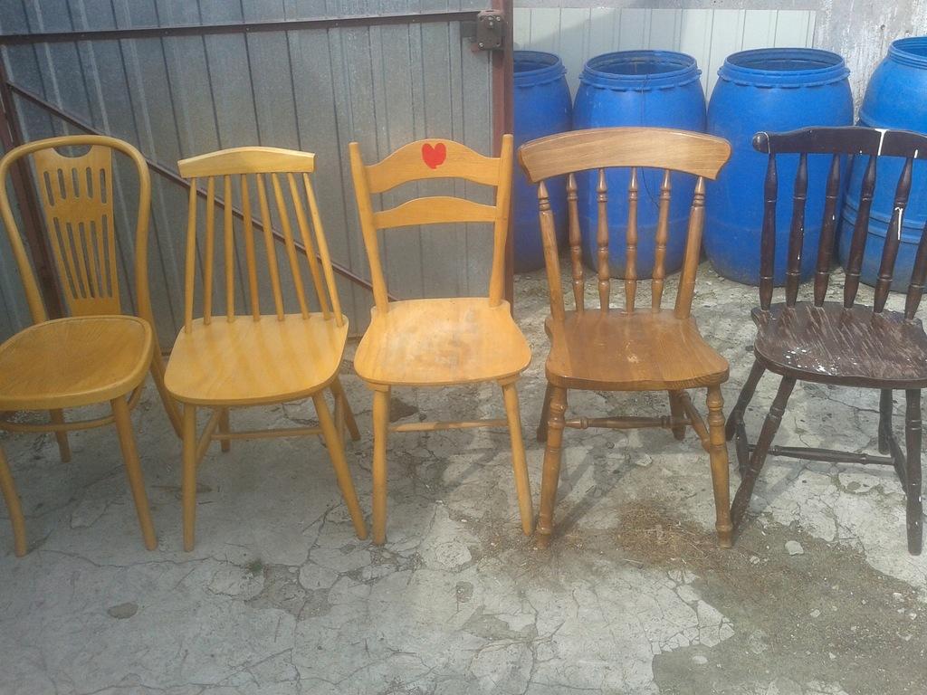 allegro krzesła patyczaki