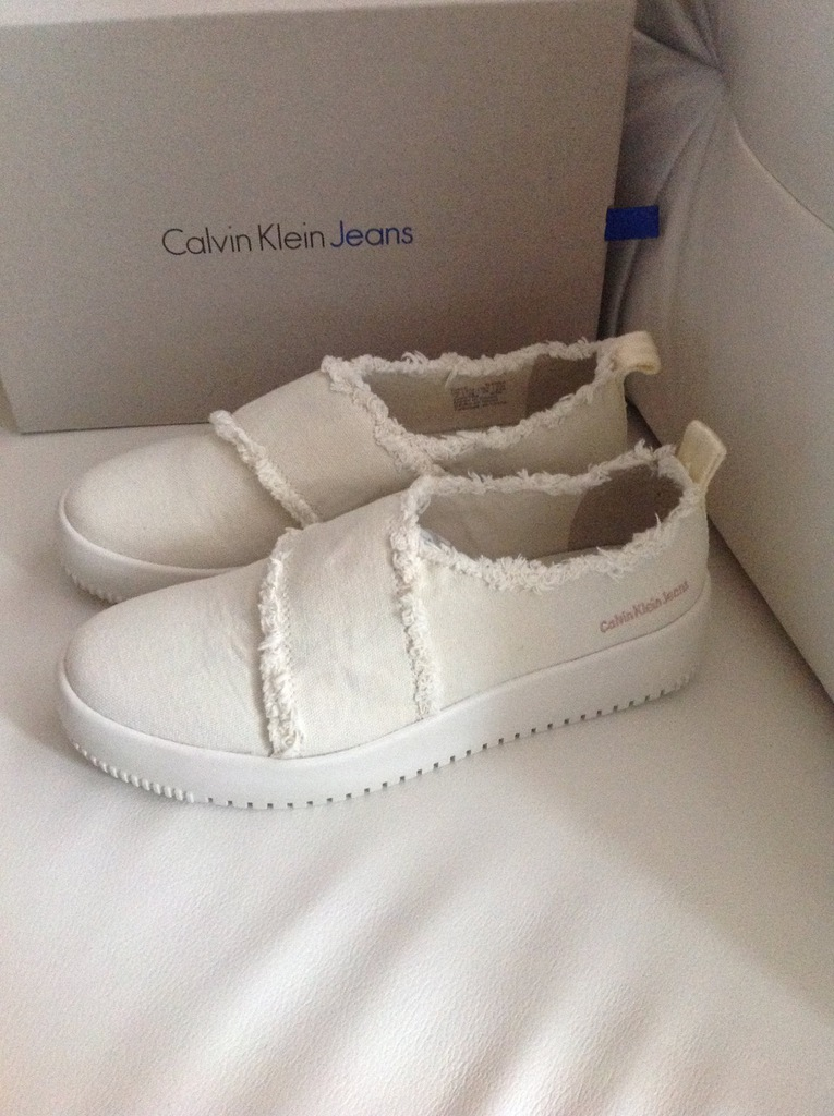 Nowe Calvin Klein buty sportowe trampki 39 40 w26