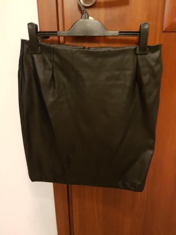 Eko skóra 38 spódnica czarna  Top Secret idealna