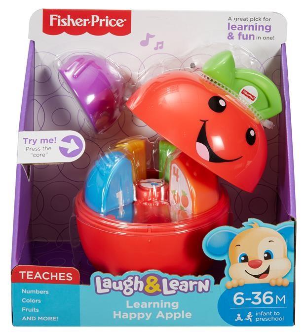 Fisher Price Ucz się i śmiej Uczące jabłuszko
