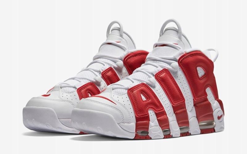 Nike Air More Uptempo WhiteGym Red |