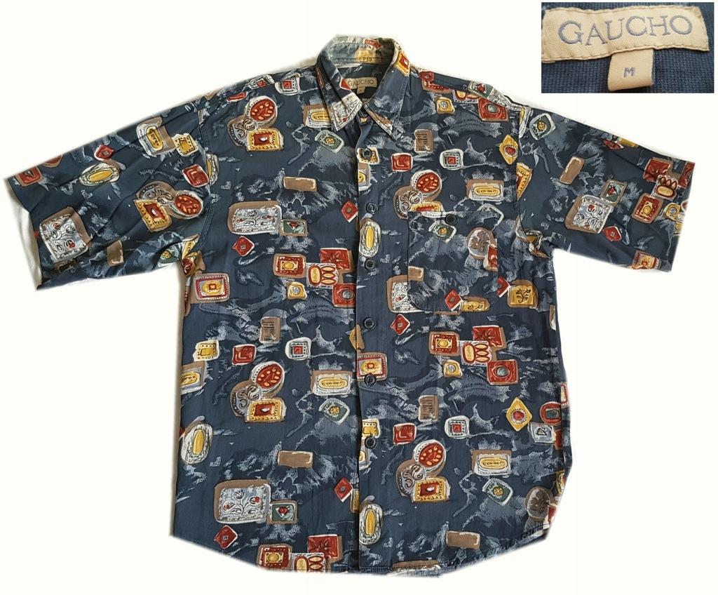 Koszula hawajska tropikalna wzory Gaucho rozm L 7537177933  iptin