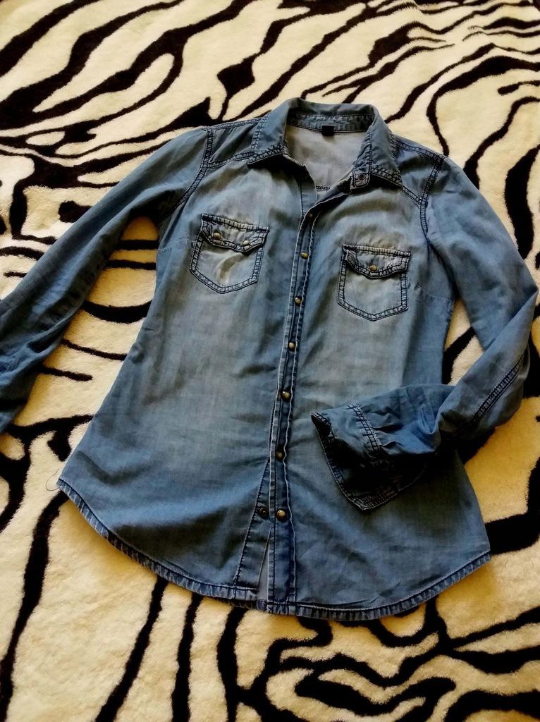 Koszula jeansowa XS Pimkie 7544809960 oficjalne archiwum  EFcbw