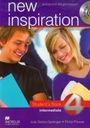 New Inspiration 4 Intermediate Student's Book + CD