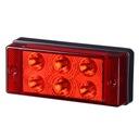 Lampa LED Przeciwmgielna czerwona diodowa Tylna