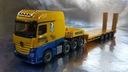 306027 MB Actros Low Boy Semitrailer Regel 1:87 HO Marka Herpa