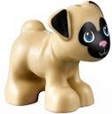 Lego Friends (B) zwierzęta - pies piesek mops NOWY