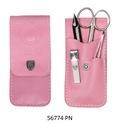 Różowy zestaw do obcinania dziecięcych paznokci -