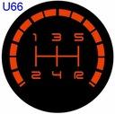 AUDI podświetlana gałka biegów A4 A6 B4 B5 B6 B7