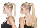 KUCYK kitka DOPINKA TRESKA włosy naturalne clip in