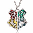 Naszyjnik Harry Potter Hogwart srebrny kolor