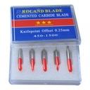 Nóż nożyk noże ploter tnący 30 45 60 ROLAND 10szt.