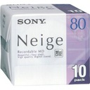 MD Mini Disc NEIGE SONY MD80 80min Wa-wa RAD-WIK