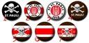 FC St. Pauli  - Przypinka, przypinki
