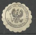 Zalepka  ---  Kreuzburg - Kluczborg