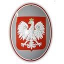 godło Polski emaliowane 40 x 50 - gwarancja! W-wa