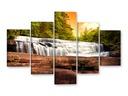 WODOSPAD Obrazy na płótnie 125x85 Obrazy częściowe