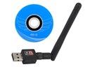 BEZPRZEWODOWA KARTA SIECIOWA WIFI USB + ANTENA zPL
