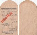 1916 KATTOWITZ KATOWICE ŚLĄSK FIRMA LUBINUS STEIN