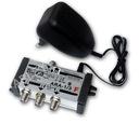 Wzmacniacz rozdzielacz antenowy TV ARA-1/3DC DVB-T