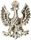 Orzeł Piastowski orzełek przypinka pin wpinka