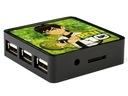 Jedyny Czytnik kart + HUB USB BEN 10 TEN Szczecin