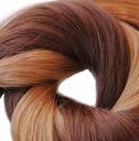 40cm Naturalne Włosy EUROPEJSKIE KERATYNA RINGI 0z