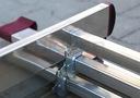 Drabina aluminiowa 3x8 KRAUSE CORDA 5,40m 030382 Długość w pozycji rozłożonej/rozsuniętej 450 cm