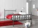 łóżko metalowe Lak System 90x180 wzór 8 + stelaż