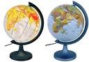 Globus 250 mm polityczno-fizyczny PODŚWIETLANY 2w1